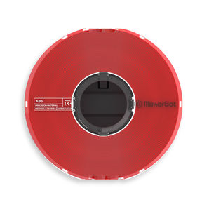 MakerBot Precision Material True Red ABS for METHOD X 375-0024A
