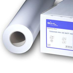 """SiHL TexBanner Pro 320 Matt AQ 3275-24-45-3 345µm 24"""" 610mm x 45.7m roll"""