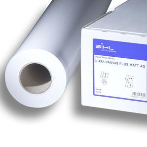 "SiHL Clara Canvas Plus Matt AQ | 320g/m² | 3579-60-12-2 | 60"" 1524mm x 12mtr Roll"