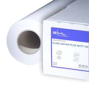 "SiHL Clara Canvas Plus Matt AQ 320g/m² 3579-60-12-2 60"" 1524mm x 12mtr Roll"