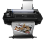 "HP DesignJet T520 24"" A1 ePrinter CQ890A: T520 with Architectural render"
