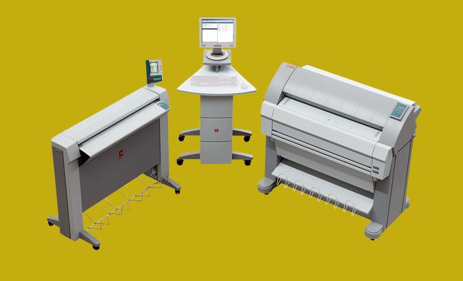 Plan Printers Discontinued Oce Tds450 Plan Printer