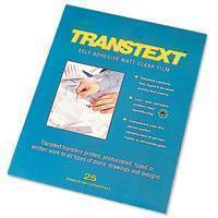 Transtext A4 Self Adhesive Clear Film