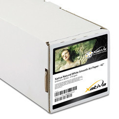 "Xativa 260g/m² Hi White Smooth Art Paper 44"" 1118mm x 30.5m"