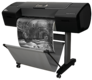 "HP Designjet Z3200ps 24"" & 44"" Photo Printer Q6720B / Q6721B: HP Designjet Z3200ps, front with print"