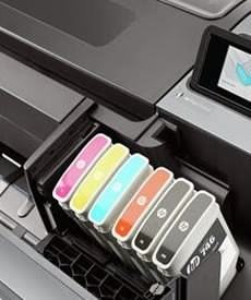 HP 746 747 Designjet Z6 Z9 ink cartridge